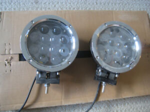"""NEW 7"""" LED Offroad Projector Spot Lights - Pair, set of 2"""
