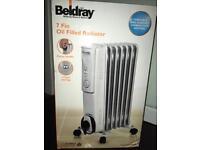 Beldray 7 Fin Oil Filled Radiator - New, in box