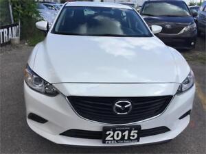 2015 Mazda Mazda6 GX NAVIGATION UNDER FACTORY WARRANTY 