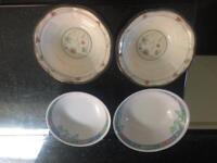 Places bowls