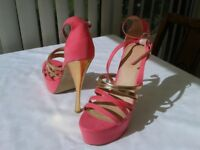 Size 7 Pink Shoes