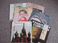 BEETHOVEN & TCHAIKOVSKY ON VINYL