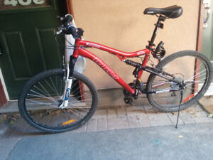 Barely used mountain bike for sale