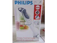Philips HR1364 Hand Blender with Chopper, Beaker & Whisk - almost new