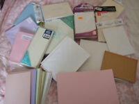 Card Making Job Lot of goodies! Card Blanks, Embelishments, Paper, Card, Verses Template CD Rom PC
