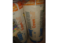 2 rolls of Knauf Rockwool Loft Insulation 150mm thickness