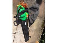 Electric leaf blower / vac