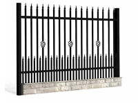GATES & FENCE RAILINGS FROM £180 / sqtm [ C25]