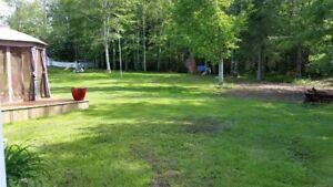 **Large private backyard in Dieppe**