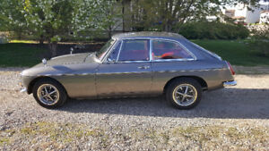 1967 MGB GT Restored