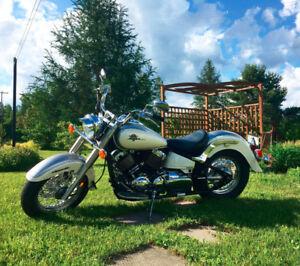 2 yamaha v-star 650 classic