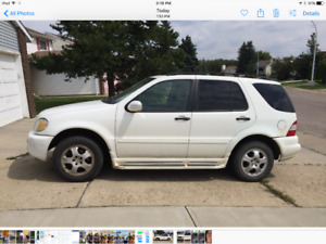2002 Mercedes-Benz 300-Series SUV, Crossover