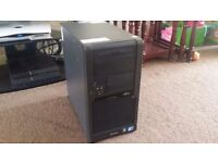 Gaming PC, Intel Core2Duo 2.83Ghz Quad Core 64bit, 8GB RAM, 500GB HD, Geforce 310 512MB, Windows 10!