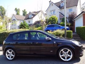 HIGHLY SOUGHT AFTER (2009) VAUXHALL ASTRA 1.9 SRi XP CDTi 150 5dr BLACK ONE OWNER/ONLY 55K MILES/FSH
