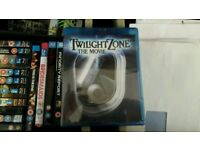 Rare TWILIGHT ZONE the Movie sealed bluray dvd