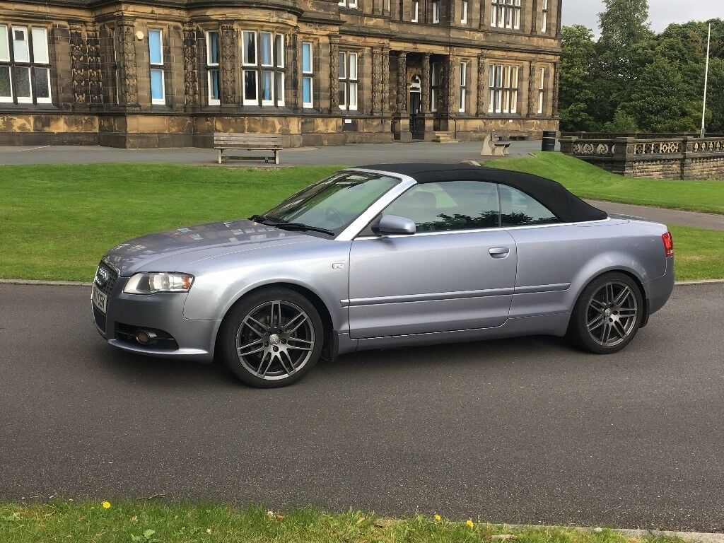2007 audi a4 convertible cabriolet 2 0 diesel tdi not a3. Black Bedroom Furniture Sets. Home Design Ideas