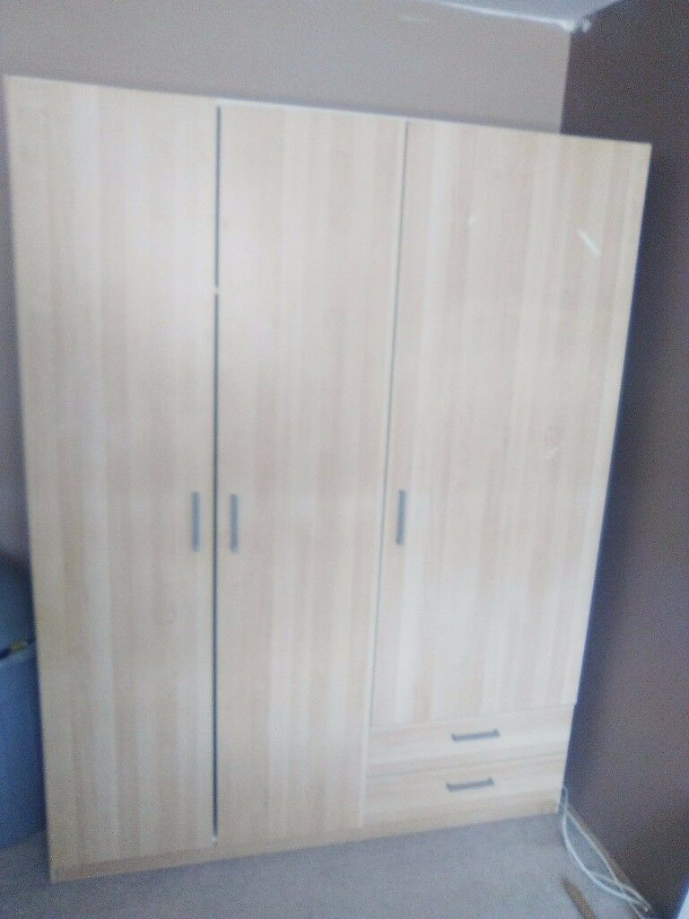 ikea kullen wardrobe in bulwell nottinghamshire gumtree. Black Bedroom Furniture Sets. Home Design Ideas