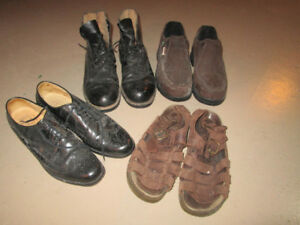 Steel Toe Shoes and Regular Shoes