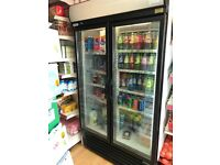 Double door drink fridge still working order only £150 urgent sale