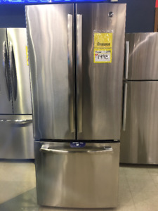 GE 20.8 Cu. Ft. French-Door Refrigerator – GNE21DSKSS