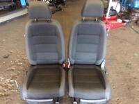 Vw caddy seats all 5 vw touran seats with all conversion for caddy