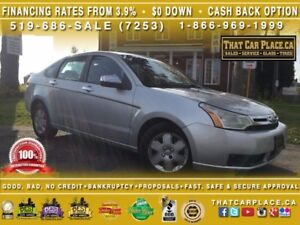 2009 Ford Focus SE-$42/Wk-Bluetooth-AUX/CD-Keyless-AC-Tilt-
