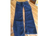 Ladies diesel jeans only worn once