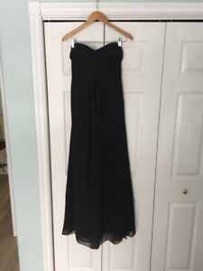Black Bridesmaid/Formal Dress