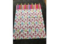 Girls Double Bed Set And Matching Curtains
