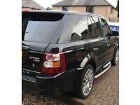 Range Rover sport, full service history