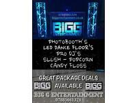 All your entertainment requirements dance floor photobooth dj slush popcorn candy floss weddings