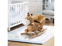 Giraffe rocking seat.
