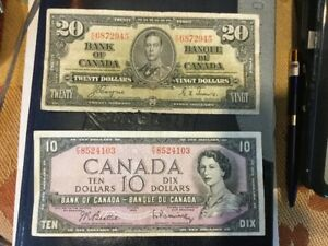 Old Canadian Paper Money