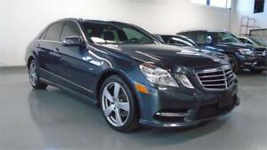 2012 MERCEDES-BENZ E350 4MATIC-SPOTLESS,NAVI,BACK CAM,PREMIUM