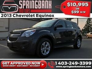 2013 Chevrolet Equinox $99B/W INSTANT APPROVAL, DRIVE HOME TODAY