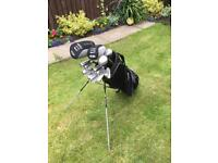 SOLD Slazenger Golf Clubs. Good condition. With Bag and balls