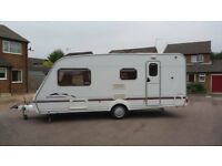 Swift Charisma 565 2003 Lightweight 4 Berth Touring Caravan, Can Deliver