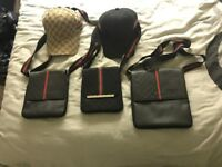 Gucci hats and bags