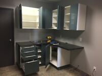 IKEA KITCHEN LAUNDRY ROOM CABINET INSTALLATION SERVICES GTA