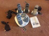 Home telephone set