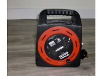 WICKES EXTENSION REEL CABLE 2 SOCKET 20 METER