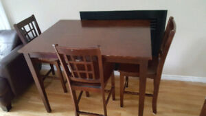 Dining Set (Bar height)