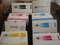 8 x boxes of pc toner/ink cartridges