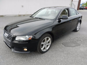 AUDI A4 2.0T QUATTRO AWD LOADED LEATHER SIDE ASSIST ETC...
