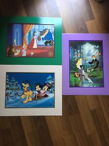 Disney Lithographs