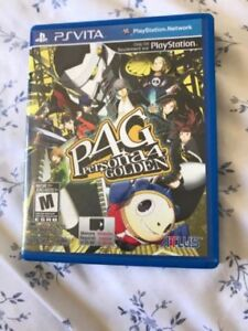 Persona 4 with box