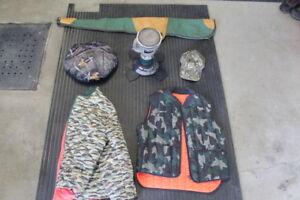 Vêtements et articles de chasse