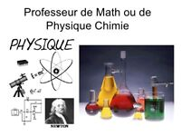 Cours particuliers MATHS PHYSIQUE CHIMIE Cellulaire 438 929 2864