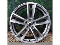 "19"" A7 Twin Spoke Style Alloy Wheels for VW Audi Seat Etc"