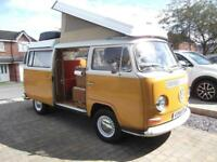VW T2 BAY WESTFALIA CAMPER, POP TOP, 4 BERTH, ORIGINAL CONDITION